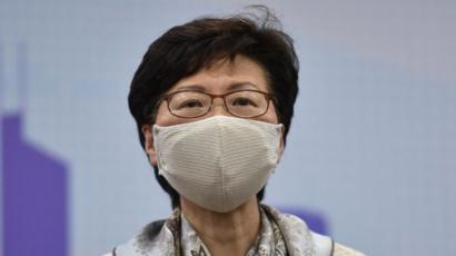 Coronavirus: Hong Kong on verge of 'large-scale' outbreak, says Carrie Lam