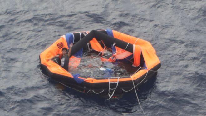 Gulf Livestock 1: Japan finds second survivor from capsized ship