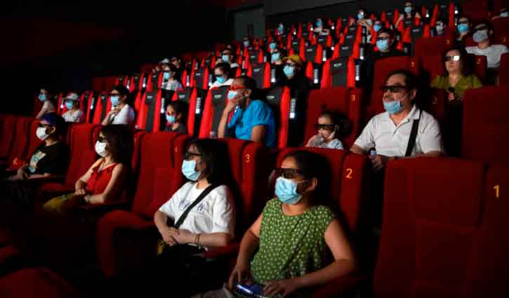 Chinese movie theaters open for business