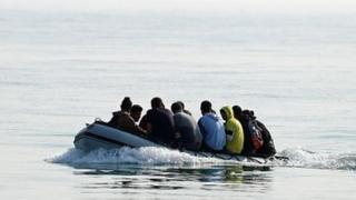 Asylum seekers: UK considered floating barriers in Channel