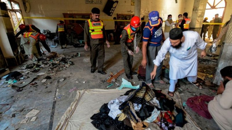 Peshawar bombing: At least seven dead in Pakistan school attack