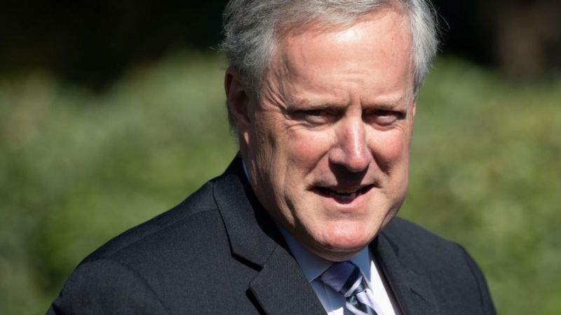 Covid-19: White House chief of staff Mark Meadows tests positive