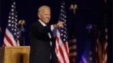 US election: Joe Biden vows to 'unify' country in victory speech