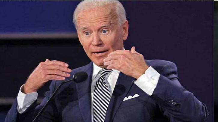 We are on track to win, says Joe Biden