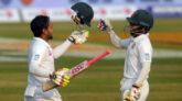 Bangladesh cricket team is moving towards victory