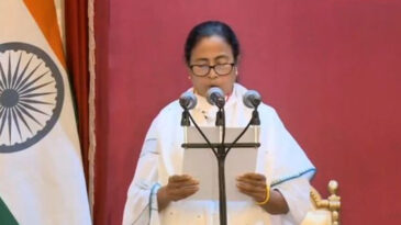 Today, Mamata will take oath as the Chief Minister for the third time