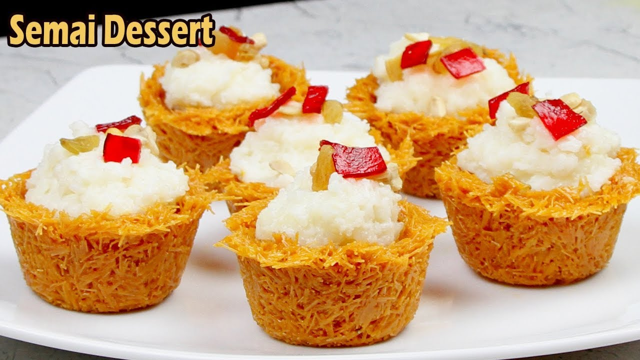 Have a delicious Semai dessert in Iftar this Ramadan