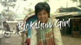 "Amitabh Raza's movie ""Rickshaw Girl"" has gained popularity in the trailer"